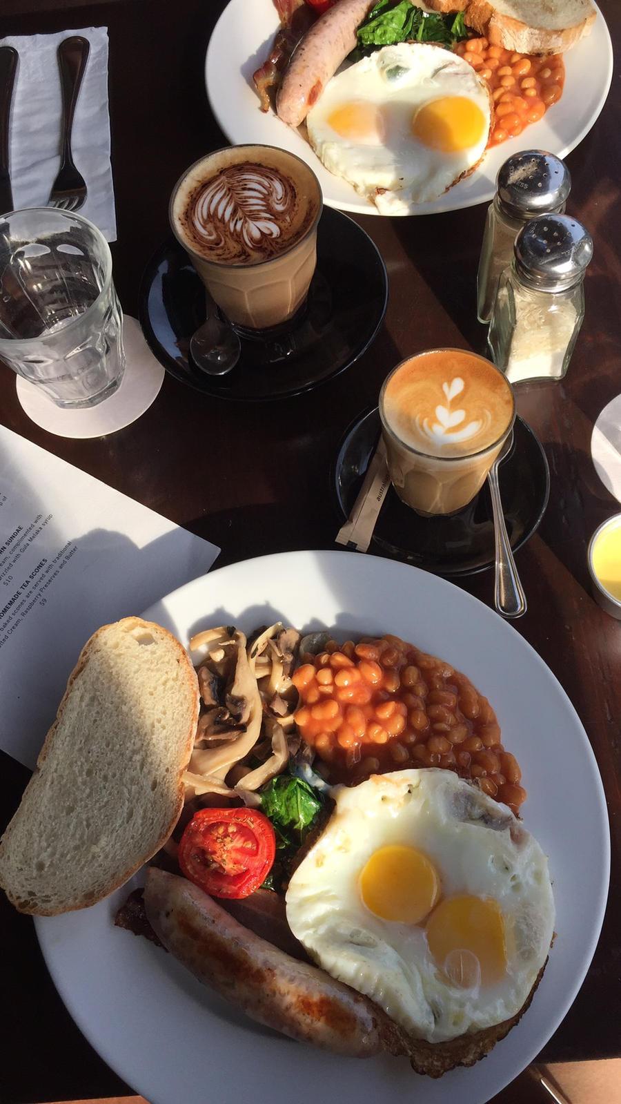 Lovely breakfasts~ by Deviljackies