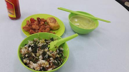 my lunch :) by Deviljackies