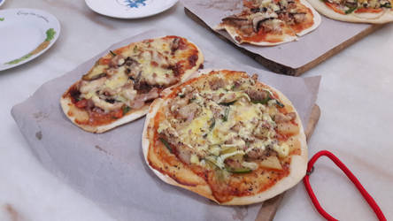 home made pizza part One by Deviljackies