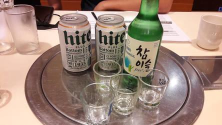 Korean alcohols! by Deviljackies