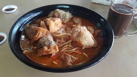 Curry Noodles ~