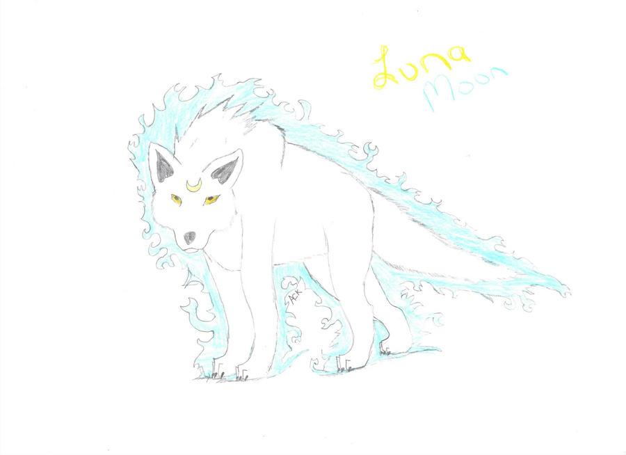 Luna Moon by aluekasivu