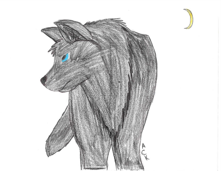 Death The Crescent Moon by aluekasivu
