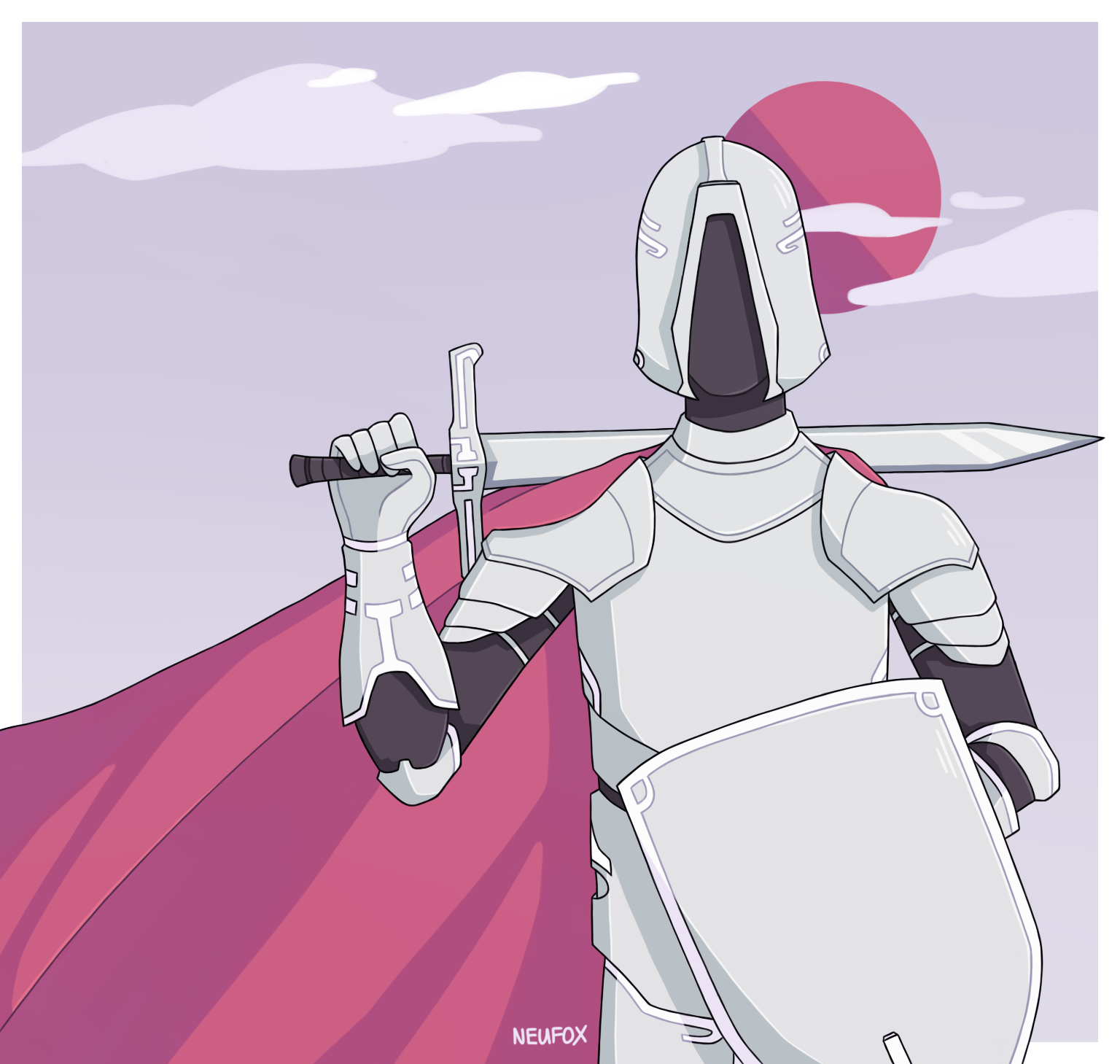 AT: Knight by neufox