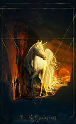 The High Priestess (reversed) by Mocarro