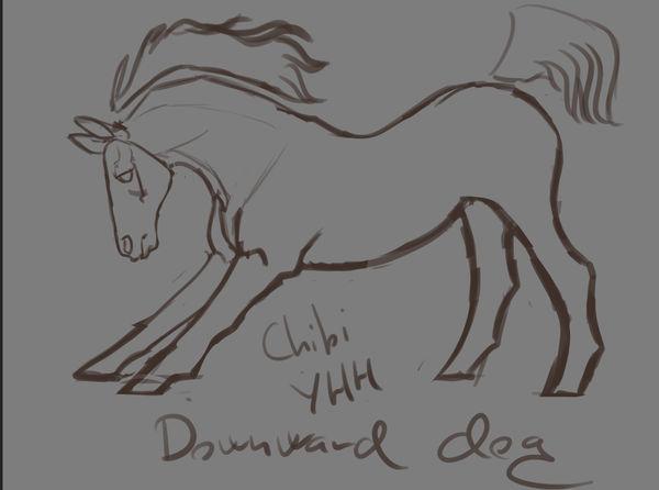 Chibi Horse Yoga YHH OPEN - 1 slot