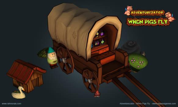 Wagon by raffael