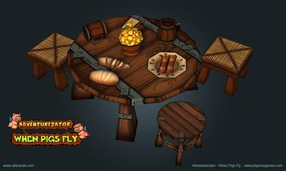 Bar Table by raffael