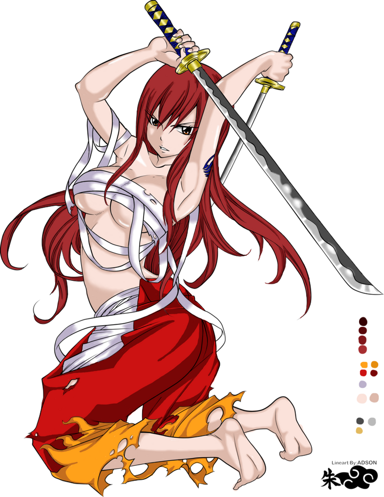 Sexy erza fairy tail