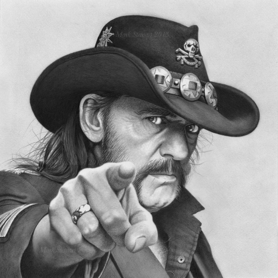 Lemmy Kilmister by markstewart