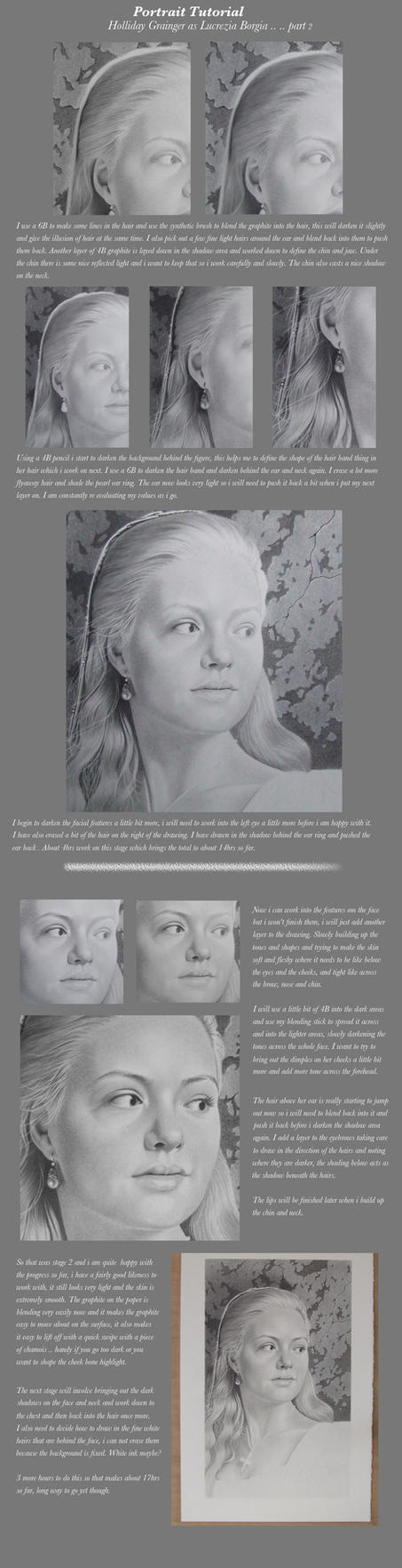 Step by step portrait 2 by markstewart