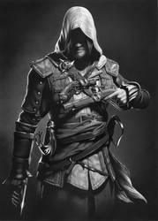 Assassins Creed drawing