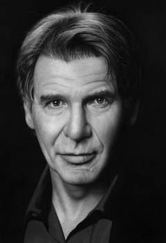 Harrison Ford in graphite