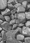 Stones in graphite 2