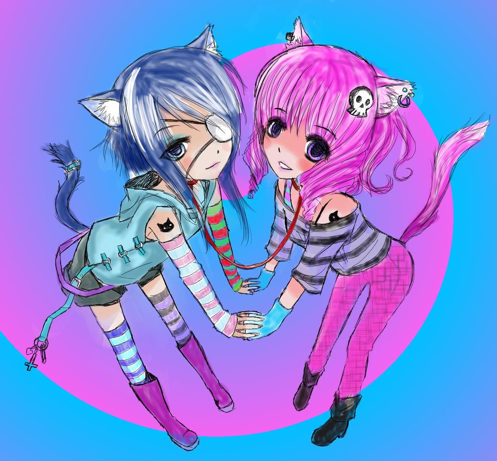 Bffs forever lt3  animemanga  Pinterest  Change 3 and Bffs