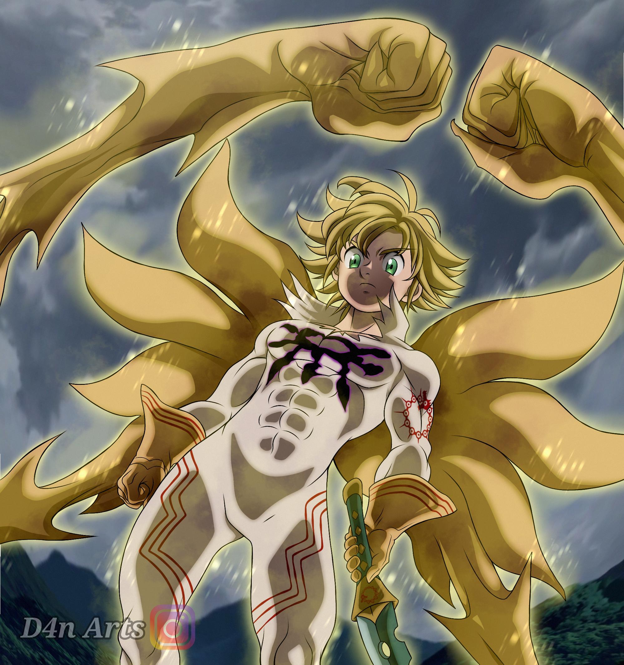 meliodas demon king form