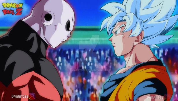 Goku Vs Jiren Dragon Ball Z Style
