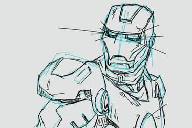 Iron Man by Ozzirius