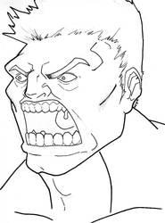 The Hulk by Ozzirius