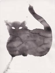 Chat Nuageux   Cloudy Cat   Gato Nublado