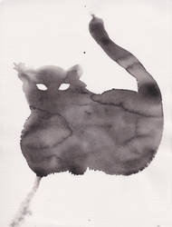 Chat Nuageux | Cloudy Cat | Gato Nublado by MarcPhilippeJoly