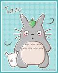 Totoro by xXMandy20Xx