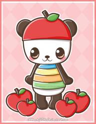 Pandapple by xXMandy20Xx