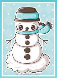 Snowman by xXMandy20Xx