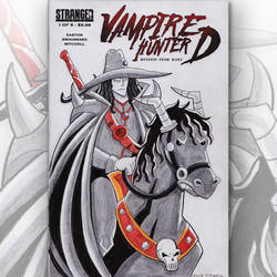 Vampire Hunter D Sketch Cover by jsidwell0