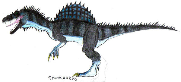 CARNIVORES- Spinosaurus by invaderTRIPP666