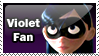 Violet Parr Stamp by Inner-D
