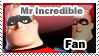 Mr Incredible Stamp by Innerd