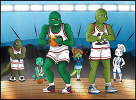 Slam Dunk TMNT by Innerd
