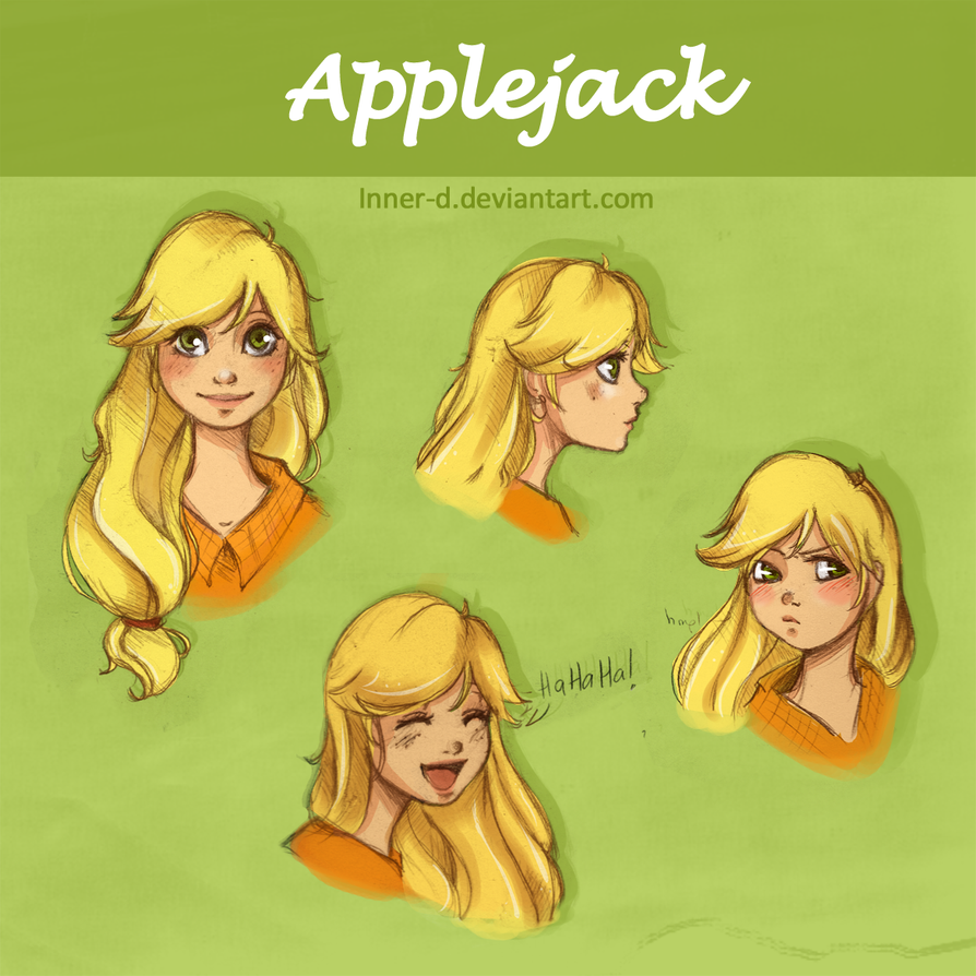 More Applejack by Inner-D