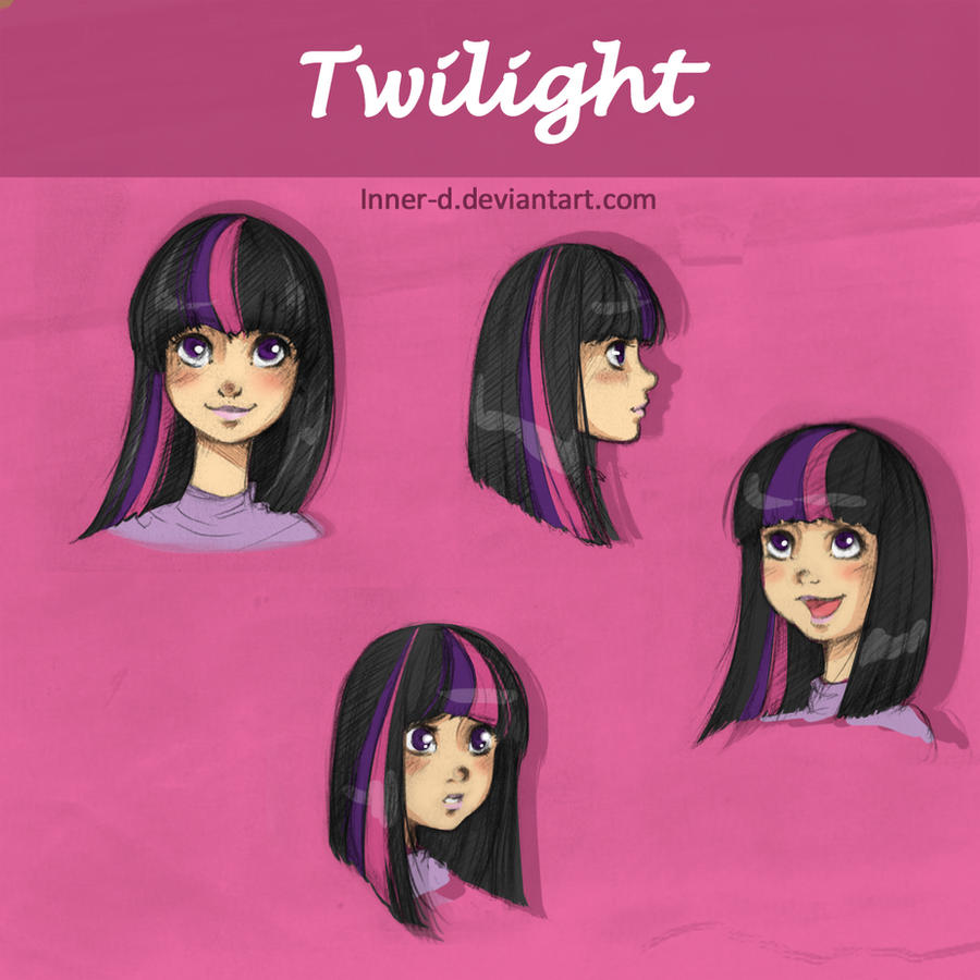 Twilight sparkle sketches by Innerd