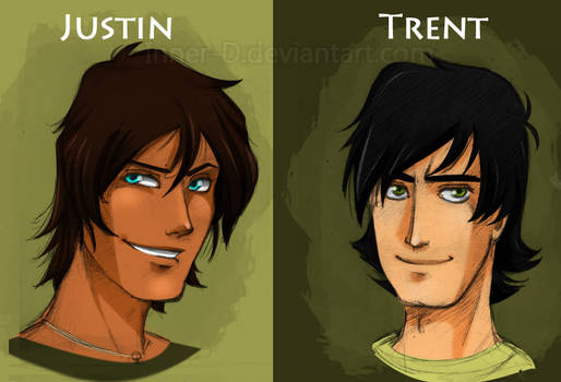TDI: Justin and Trent sketches