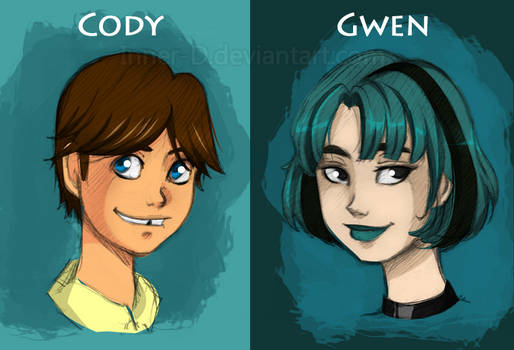 TDI: Cody and Gwen Sketches