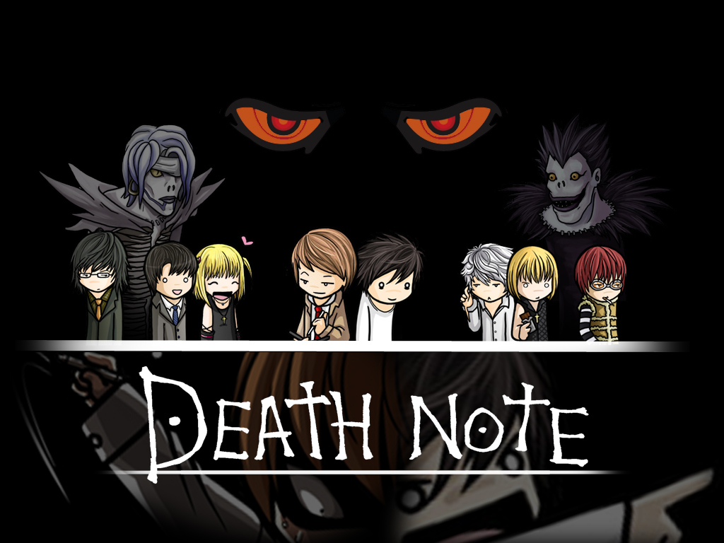 your wallpaper death note wallpaper