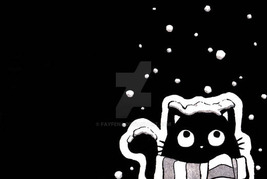 Inktober 2019 11/31 snow