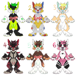 [OPEN 2/6] $5 Anthro Canine Adopts