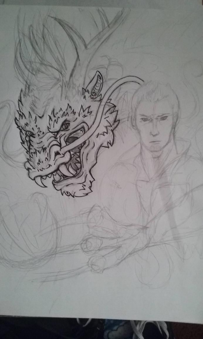 WIP Dragon Daddy by HavocWraith