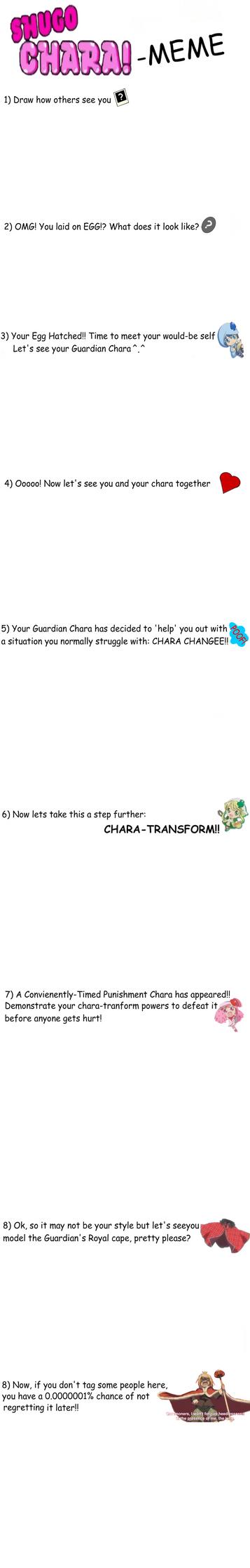Shugo Chara Meme by Chleddyfwr
