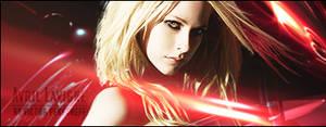 Avril Lavigne 'Red' Signature