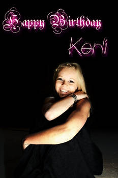 Happy Birthday Kerli