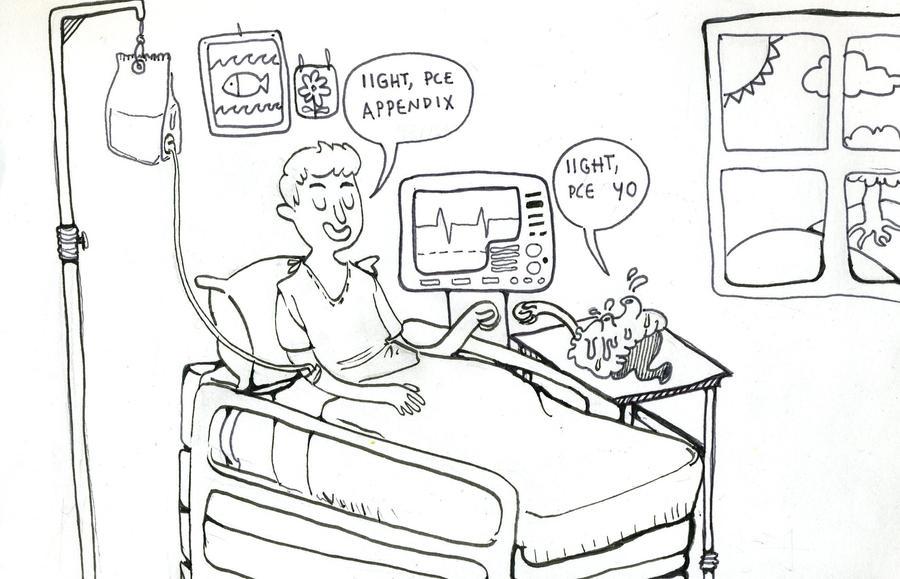 my appendix wasn't chillen' by Zwickle on DeviantArt