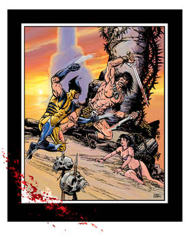 what If conan vs wolverine