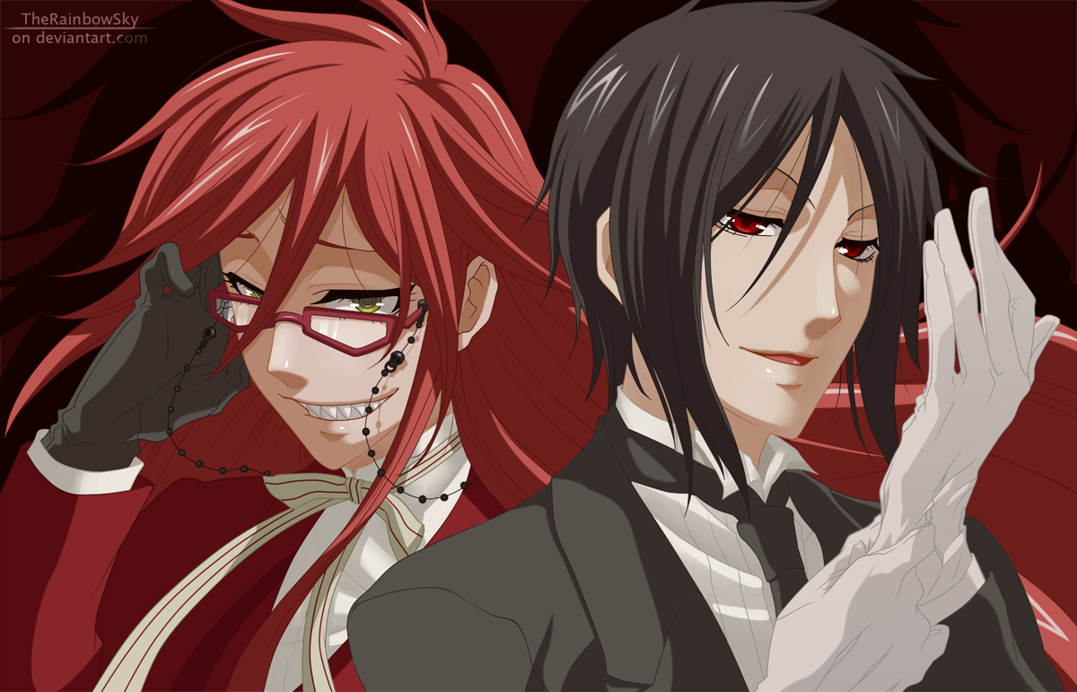 grell x sebastian related keywords grell x sebastian