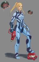 Zero Suit redesign by Kodachi-sama
