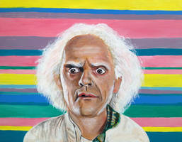 Doctor Emmett Brown from Back to the Future by ckrickett
