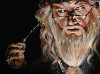 Dumbledore by ckrickett